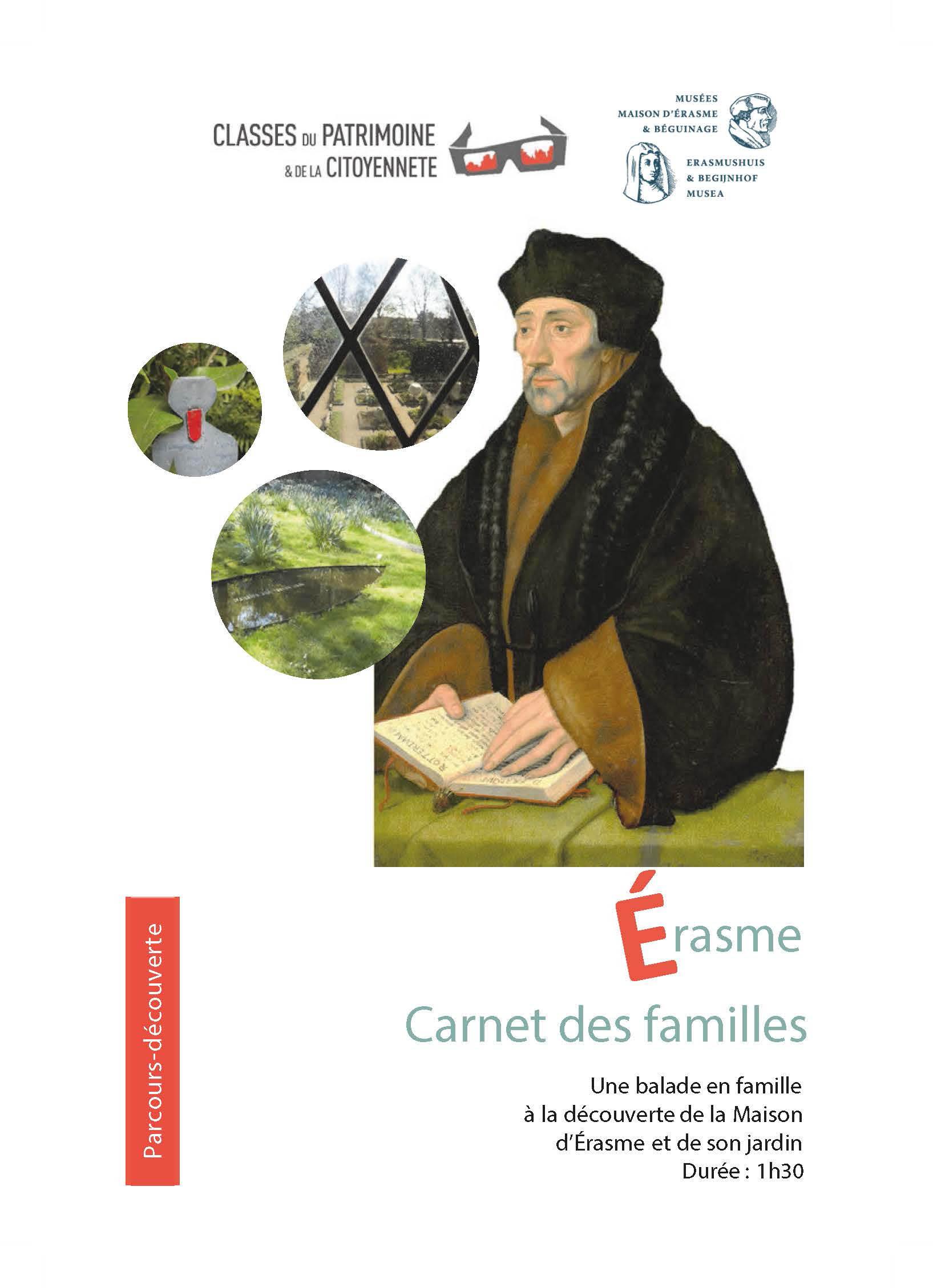 Erasme carnet des familles