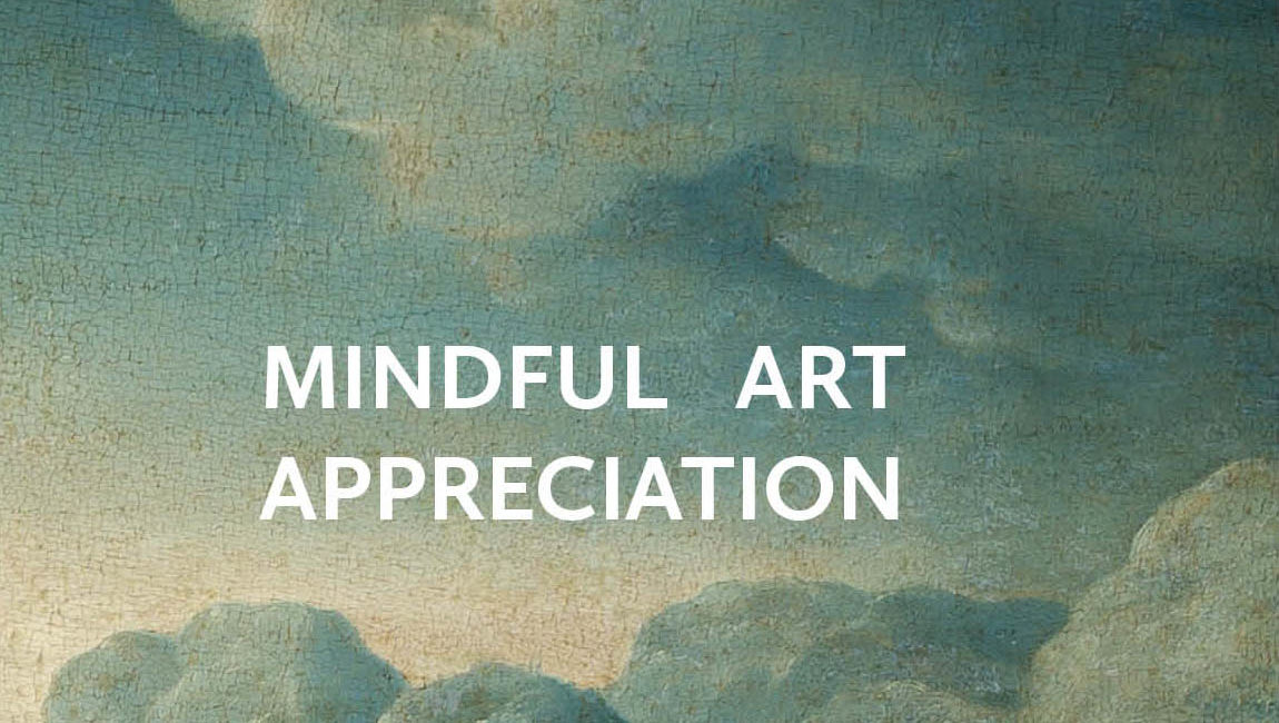 Affiche mindful art appreciation