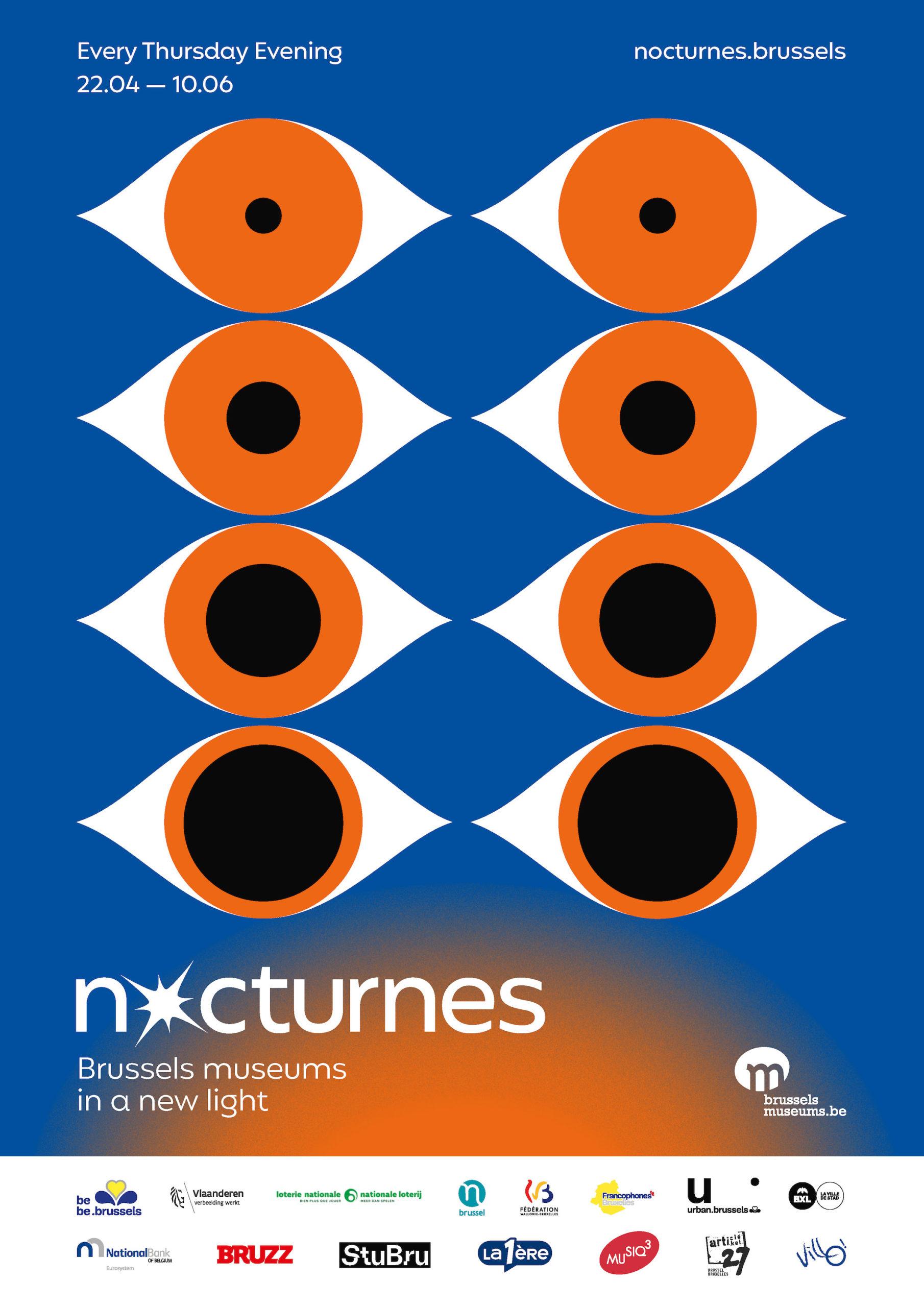 Affiche Nocturnes des musées