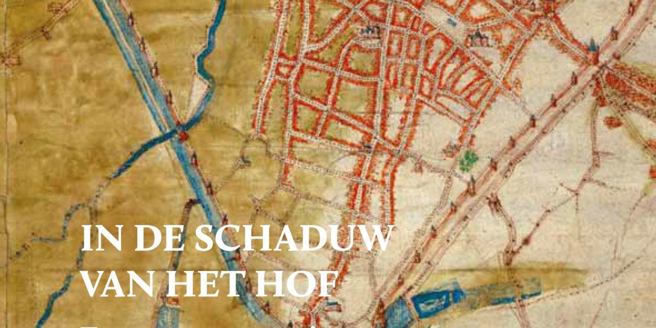 Couverture Guide In de Schaduw van het Hof. Erasmus te gast in Brussel en Anderlecht
