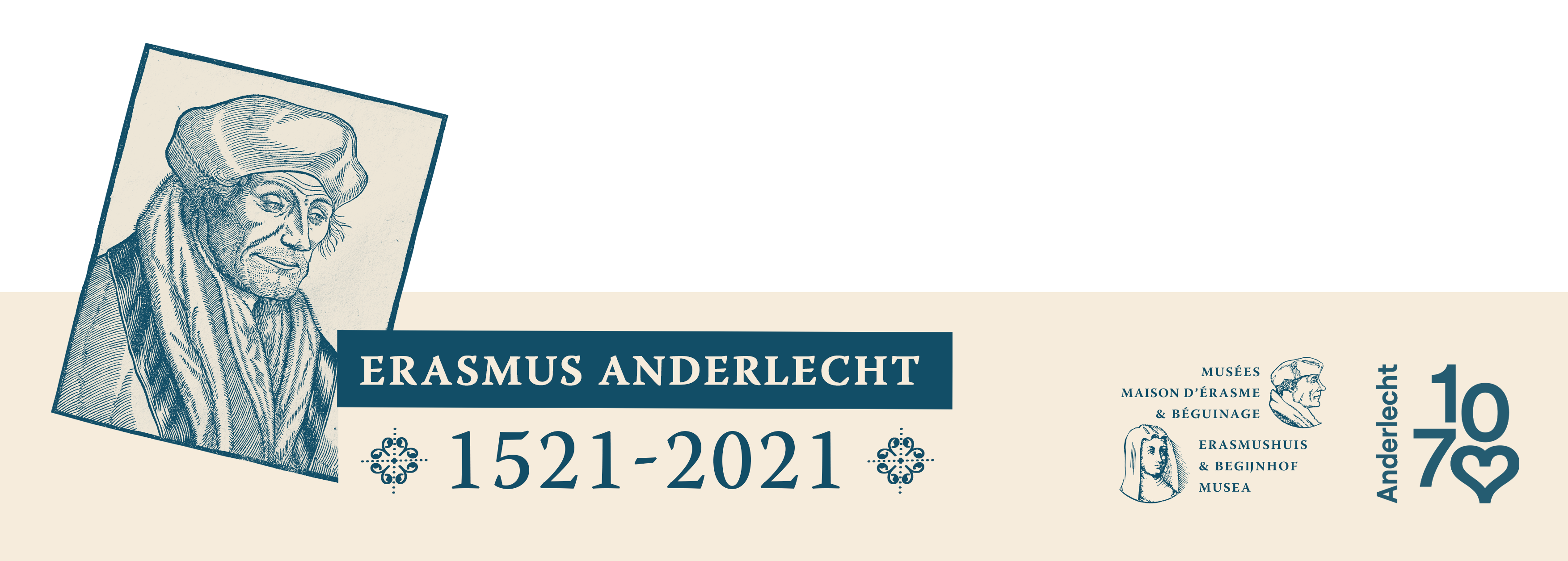 Vignette Erasmus Anderlecht 1521-2021