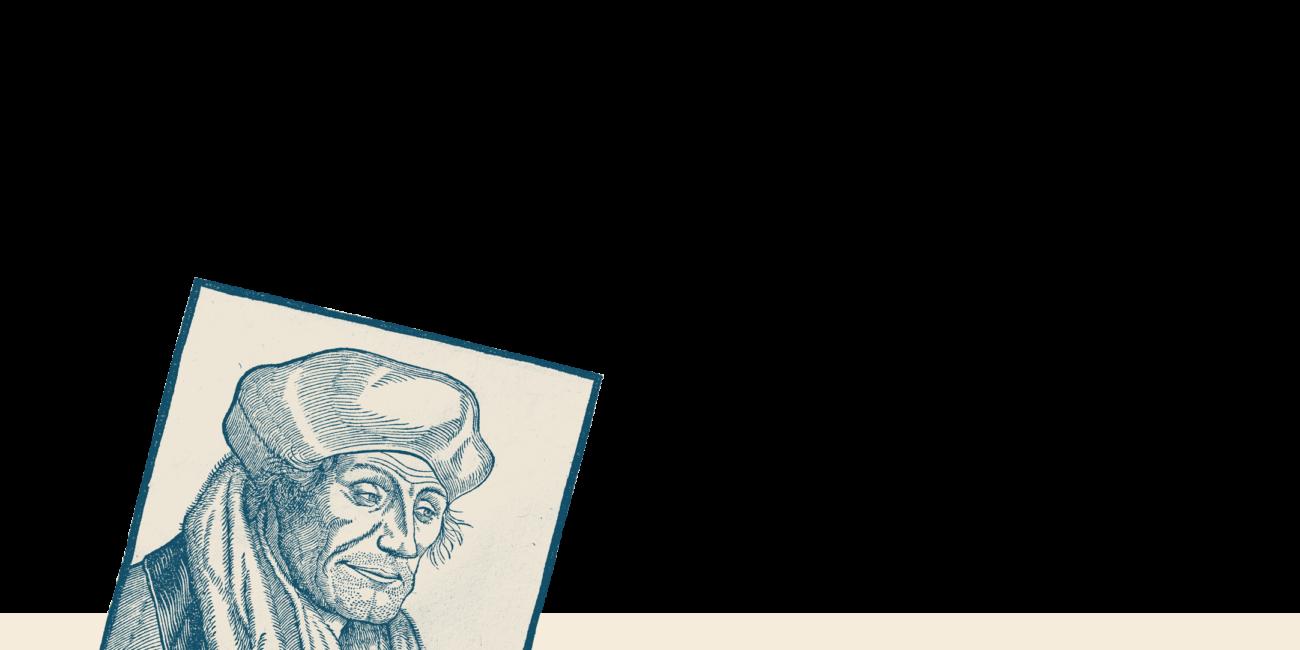 Vignette carrée Erasmus Anderlecht 1521-2021