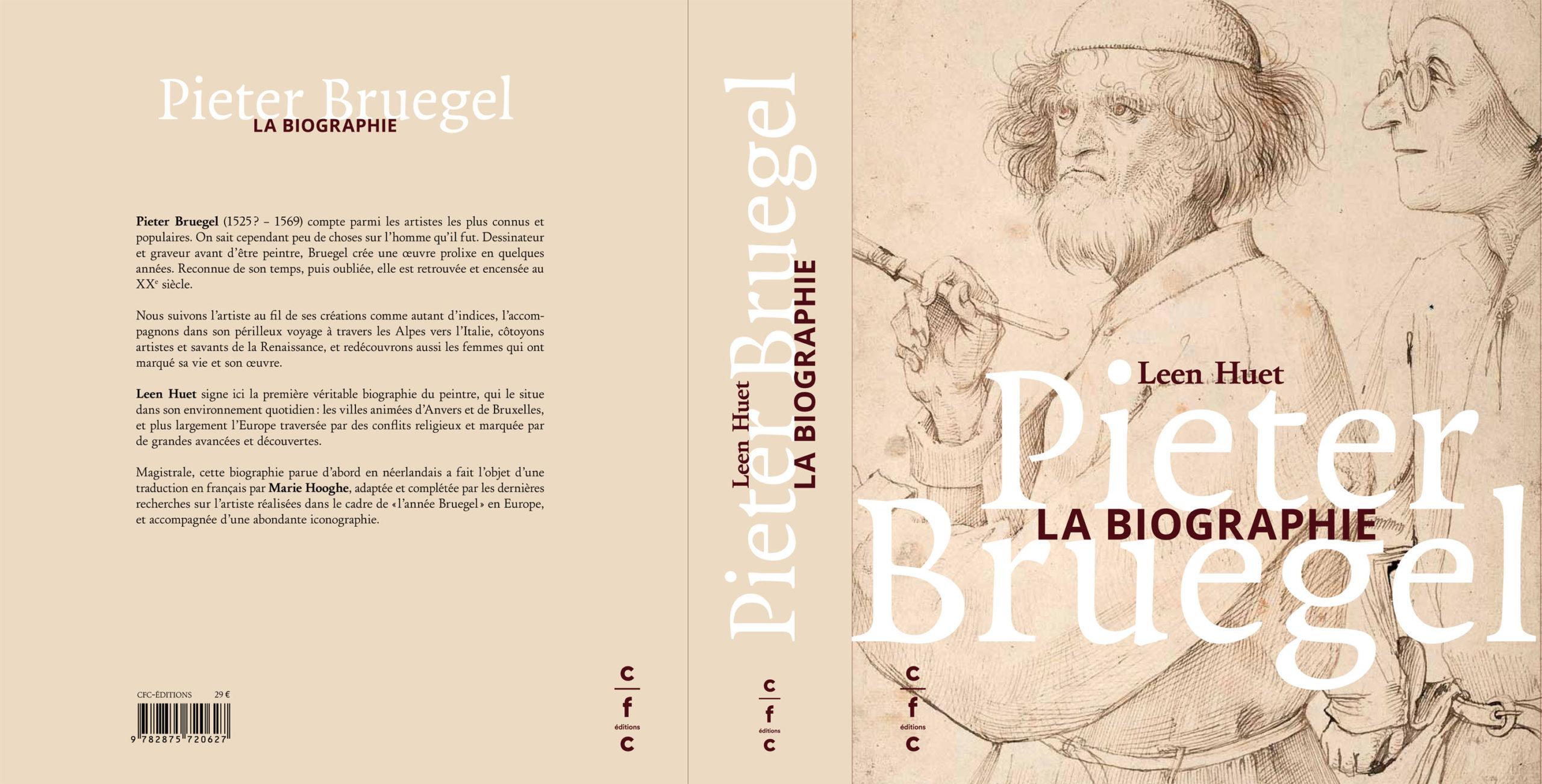 Couverture Leen Huet, Pieter Bruegel. La biographie